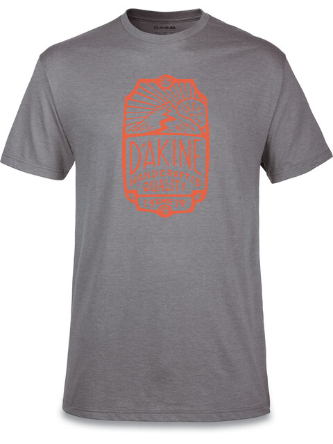 Dakine Head Tube S/S Tech T Men Heather Dark Grey